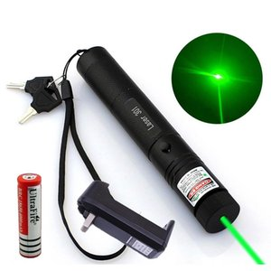 10Mile Military Green Laser Pointer Pen 5Mw 532Nm Powerful Cat Toy+18650 Battery+Charger Kehwx Lcsky