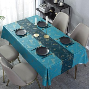 Table Cloth Waterproof And Oil-proof Disposable Anti-scalding Coffee Household Simple Creative Mat Tablecloth