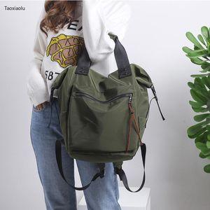 Korean Style Women Backpack Large Waterproof Backpack Women Laptop Bagpack College Student School Bag For Girl Bookbag