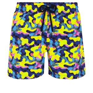 Vilebrequin trajes de baño Turtones Turtles New Summer Casual Hombres Estilo de moda MENS Bermudas Playa Pantalones cortos 015