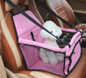 4 Colors Pet Booster Car Seat with Dog Harness & Car Seat Belt S-XL 23 S2