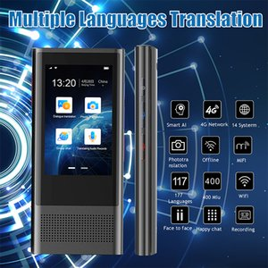 W1 3.0 Ai Translator 117 Idiomas WiFi 4G Offline Portable Voice Device Smart Business Traducción Máquina
