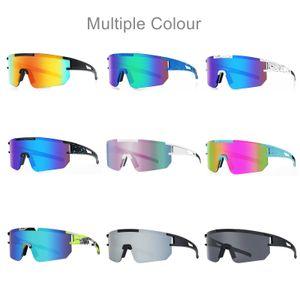 Occhiali da sole polarizzati per uomini e donne, TR90 Frame Eyewear Protezione UV Ciclismo, Pesca, Esecuzione, Golf, Sport all'aperto