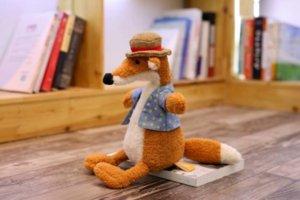 30cm Cute Straw hat animal PlushToy Baby Elephant Lion Fox Rabbit Pig Panda Duck Monkey Soft Stuffed toys for children