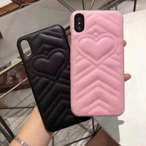 Nuova cassa del telefono di moda per iPhone 12 12 Pro Max 8plus XS XR XSMax Lover in pelle Hard Shell Designer Cover per iPhone 11 Pro max