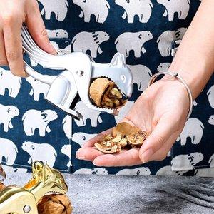 Walnut abridor multifuncional walnut alicates esquilo forma walnut clipe porca abridor criatividade liga de zinco acessórios de cozinha DHL livre