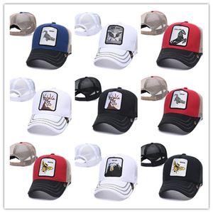 Luxury Embroidered high quality Baseball Cap Men Golf snapback Designer fashion Women style animal hat