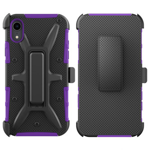 For Iphone 6S 6 7 8 Plus X XS MAX XR VH Combo Belt Clip Kickstand Holster Shockproof Protective Phone Cover Case