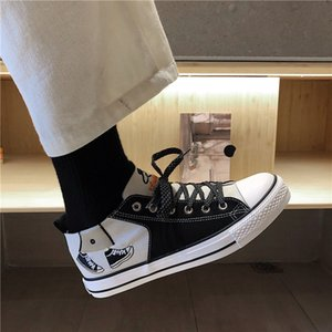Skate shoes Popular Fashion Men Students Skateboards Sneakers Classic Sports Pure Outdoors Plate Shoes Size 39 44 0918