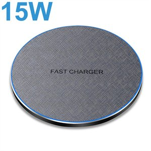 15W Power Quick Charging For Samsung S20 S10 S9 Note 20 10 Qi Fast Wireless Charger Pad