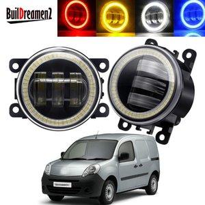 Other Lighting System 2 X Angel Eye Fog Light Assembly For Kangoo Grand 2007-2021 Car LED Lens DRL Daytime Running Lamp 30W H11 12V