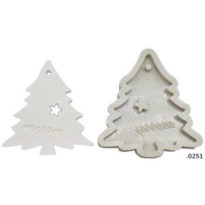 سيليكون خبز قوالب ل diy ندفة الثلج شجرة عيد الميلاد شنقا الخبز أداة أطفال المفاتيح العطور سيارة قلادة كعكة الديكور FWD4958