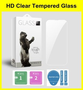 High Clear Screen Protector for iPhone 13 Mini Pro Max XR XS 11 12 7 6 8 5 5s SE Anti-explosion Tempered Glass Film