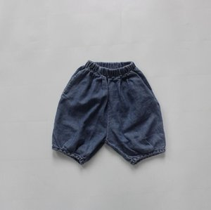 Jeans 2021 Arrival Girls Boys Denim Long Pants Autumn Fashion Kids Jean 1-7 Years WU634