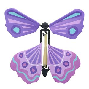 New 3D magic flying butterfly DIY Novel toy various playing methods butterfly magic props magic tricks LA66