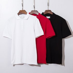 Summer Men T-Shirts Cotton Shirts Solid Color Short Sleeve Tops Slim Breathable Men's streetwear Male Tees US size XXXL clothes 13