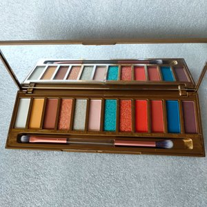 12color eye Shadow palette Matte Shimmer eyeshadows with Makeup Brush eyeshadow