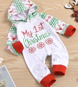 baby onesies 2pcs set with cap cotton bear printed jumpsuit one-piece onesie jumpsuits toddle infant kids clothes