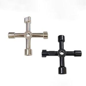 4 в 1 Универсальный ключ ключ ключ ключевой треугольник поезд электрический шкаф коробки лифт шкаф выключатель гаечный ключ 546 S2