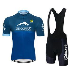 Cyclisme Jersey 2021 Hommes Vélo Montagne Top MTB Chemise à vélo Vélo Respirant Chemise à vélo Summer Short Sleeve Bike Jersey Costume