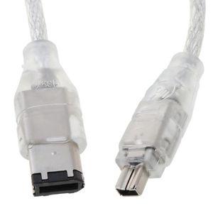 PCI-E 1X IEEE 1394A 4 Port (3 + 1) FireWire Kartı Adaptörü Masaüstü PC 4x7E Bilgisayar Kabloları için 6-4 Pin Kablosu Connectors