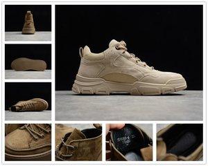 [С коробкой] TBL Country og мужская мода кожаный мартин сапоги осенью причинно-желтые замшевые ботинки мужские черные желтые повседневные туфли