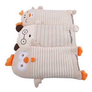 Cotton Blend weeping willow 0-6 years old newborn cotton soft pillow with buckwheat full-in cartoon design baby weeping willow