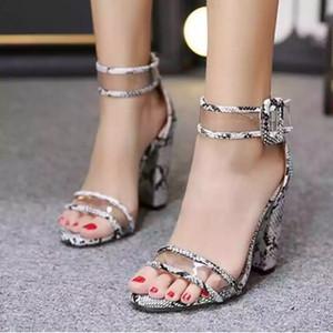 Women High Heels Summer Shoes Gladiator Open Toe Sandals Ladies Transparent Heels Sexy Sandles Pumps Plus Size 35-42