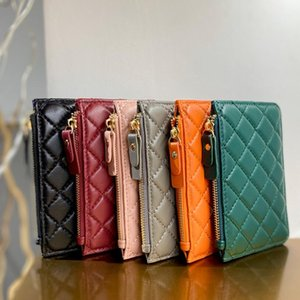 Luxury Handbags Designer Women's Bag Small Rhombus Purse Messenger Square Wild Small Bag Leather Shoulder Purses Leat ZYY713