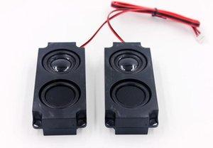 Portable Speakers 2pcs 5 W 8 Ohm Full Range Clear Sound Cavity Speaker Dual Vibration Membrane Audio Loudspeaker Box For TV Computer