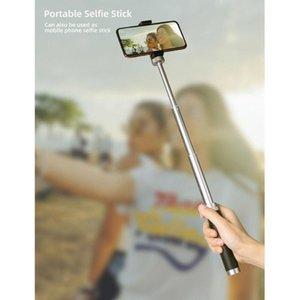 Selfie Monopods Stick Extension Rod Portable Aluminum Alloy Sports Camera Foldable Mini Tripod Universal Accessories For 9 Om4