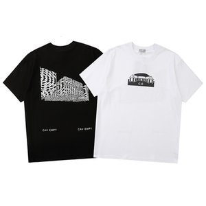 2021 Новая футболка маленький дом Геометрический графический дизайн SENSOL 4D MAGIC PRINT TEE мужчин женщин с коротким рукавом футболка E1ZF