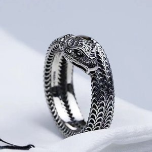 2021 boutique hot titanium steel nail ring, snake ring, men and women fashion ring wear accessories, couples match
