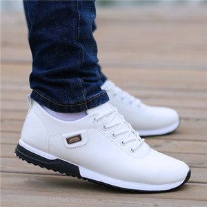 Fashion Loafers Walking Footwear Tenis Feminino Outdoor Breathable Sneakers Mens PU Leather Business Casual Shoes for Male 90