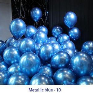 12 pouces Salle de mariage Métal Balloon Anniversaire EXPOSITION PARTIE DE PARTIE SCÈNE DISPOSITION DE BALLOON ENFANTS DE MARIAGE D'ENFANTS 057