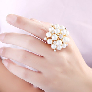 Rings Wedding rings Luxury Designer Jewelry Women Rings gold plated jewelry pearl jewelry wholesale price bride accessories