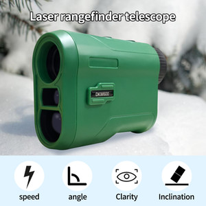 Laser Rangefinder Hunting Rangefinder 650 Yards Range Finder Distance Finder For Golf 6X Digital Rangefinders With Slope