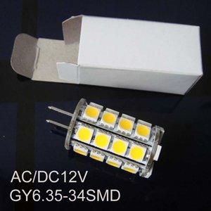 Bulbs High Quality AC DC12V GY6.35 Led Light,GY6.35 Lamp 12v,led G6 Bulb,gy6 Lamps 50pcs lot