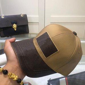 2021 أعلى جودة العلامة التجارية قبعات الكرة أزياء الشارع قبعة بيسبول رجل امرأة قابل للتعديل قبعة أربعة موسم القبعات بيني