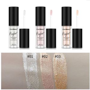 Newest MAKEUP Kiss Beauty High Gloss Liquid Highlighter 3colors Long-lasting Bronzer Moisture and Shine Concealer
