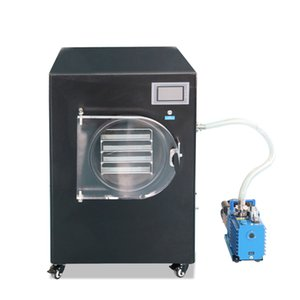 ZZKD Lab Supplies Laboratory HFD-4 Vacuum Freeze Dryer 110V 220V, for Removing Water or Other Solvents from The Frozen Samples