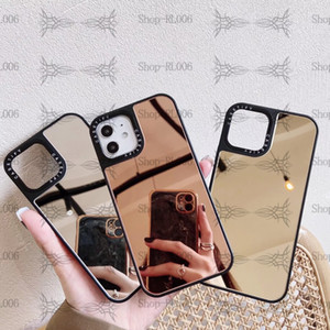(Makeup mirror phone case) Suitable for iPhone12 11 Pro Max XR x s 7 8 Plus (perfect protection of phone + dust and dirt)
