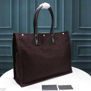 Tradução das mulheres Bolsas Rive Gauche Bolsa de compras de alta qualidade Moda de moda Grande Beach Bags Luxury Designer Saco de Travel Yjy