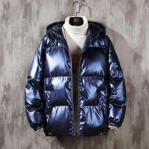 2021bright Face с капюшоном мягкая пиджака в Winterw