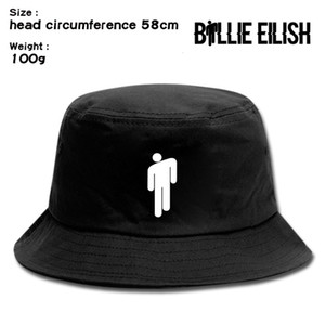Billie eilish student literature and art fisherman's sun leisure basin tide outdoor sports hat