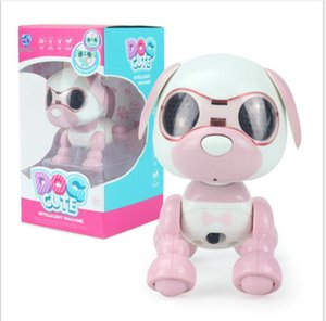 Child Kid toy Robot Dog Pet Toy Interactive Smart Kids Robotic Pet Dog Walking LED Eyes Sound Puppy Record Educational Toy Gifts