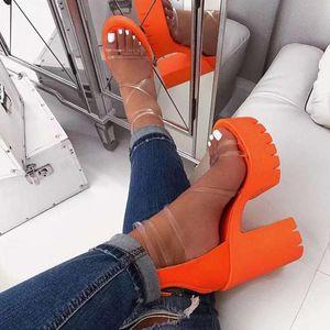 Mujeres Sandalias Ladies Fashion Casual Open Toe Trail Zippered Impermeable Plataforma Alto Tacones Zapatos Sandalias Tallas grandes C140 #