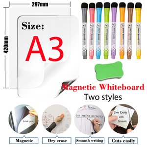 Soft Magnet Whiteboard A3 Size 11.7