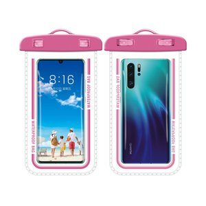 Outdoor PVC Plastic Dry Case Waterproof Bag Sport Cellphone Protection Universal Cell Phone Cases For Smart Mobile Telephone 4.7inch 5.5Inch