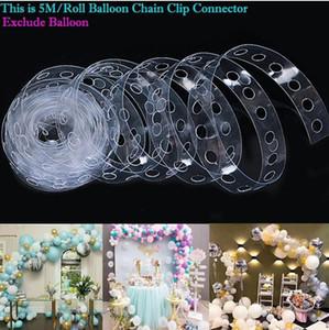 5M Ballon Bogen Kit Party Dekoration Zubehör Geburtstag Hochzeit Hintergrund Dekoration Weihnachten Liefert DHL Free # 202190